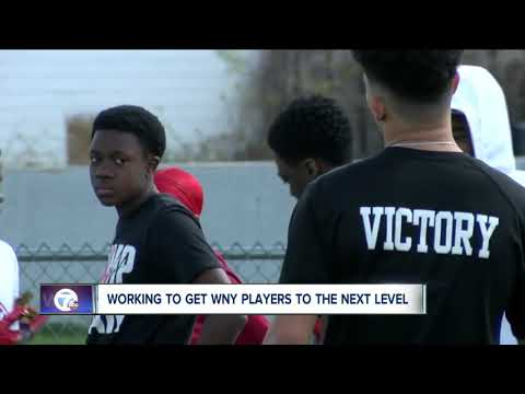 Helping high school football players get more exposure to college coaches