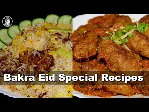 Bakra Eid Special Recipes by Kitchen With Amna