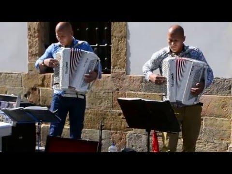 Músicos callejeros en Oviedo