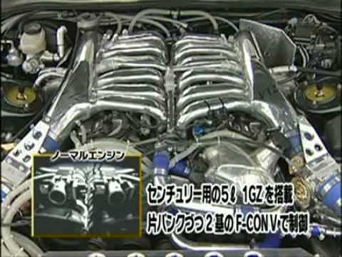 Top Secret Toyota Supra with a twin turbo 5.0L 1GZ - YouTube