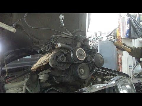 Мерседес 124 ,разбор и дефектовка   двигателя М 102 .2.3 л.