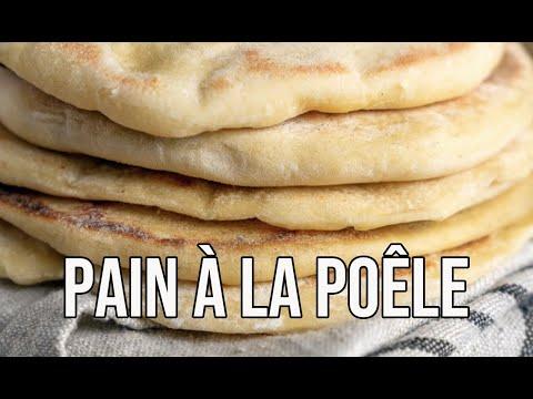 pain-pita-minute-|-recette-rapide-de-pain-cuit-à-la-poêle