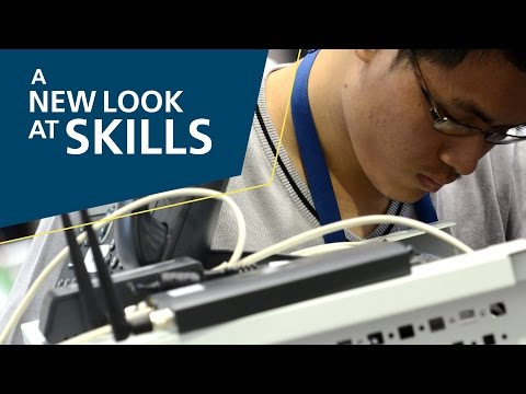 A New Look At Skills, 2015: 39 – IT Network Systems Administration