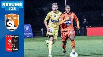 J18 | Stade Lavallois – US Boulogne CO (0-3), le résumé | National FFF 2019-2020