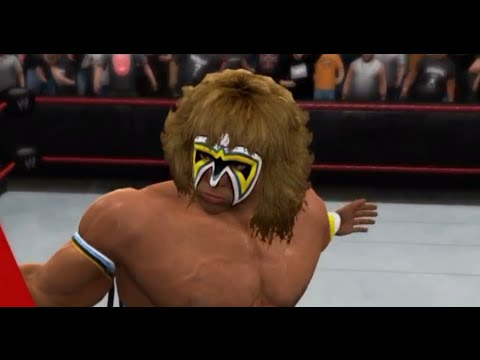 WWE 2K15 - The Ultimate Warrior Vs The Undertaker (TLC ...