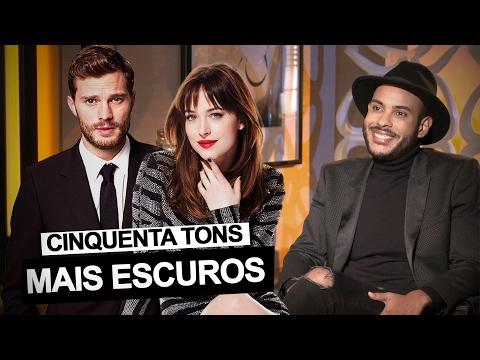 Hugo Gloss entrevista as estrelas de 50 Tons Mais Escuros: Jamie Dornan e Dakota Johnson