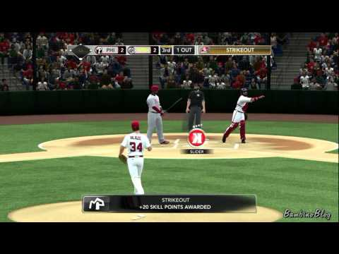 MLB 2K11 EP2 My Player :: Nick Blaze - Pitcher