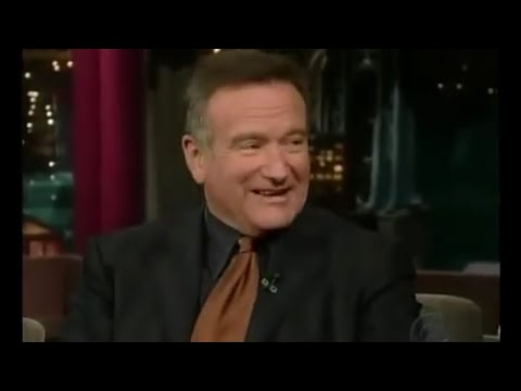 Robin Williams Letterman 10-09-2006