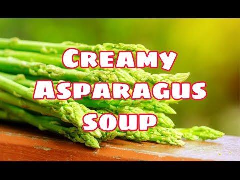 Italian style Asparagus soup