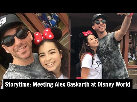 STORYTIME: Meeting Alex Gaskarth at Disney World!  Live Footage SavannahBerrios