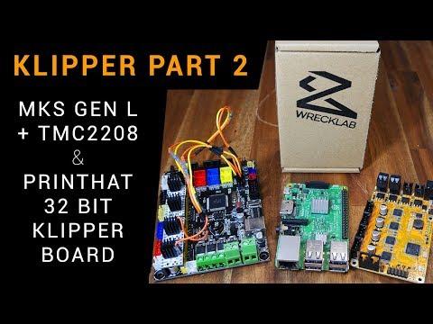 Klipper guide part 2: MKS Gen L/TMC2208 + Wrecklabs Printhat