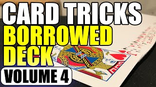 Card Tricks with a Borrowed Deck (Vol 4) - Drunken Shuffle