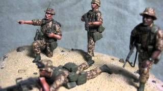 1/35 Scale US Military Desert Storm Model Figures