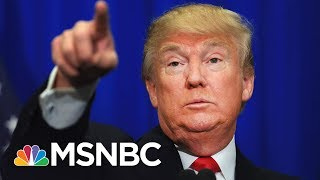 President Donald Trump Acknowledges No Tapes Exist Of Comey Conversations | MSNBC