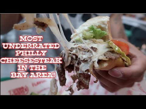 MOST UNDERRATED PHILLY CHEESESTEAK IN THE BAY AREA! WE'RE ON THE SF CHRONICLE NEWSPAPER!
