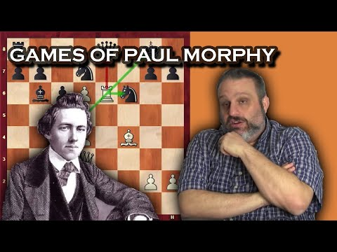 Games of Paul Morphy in the U1400 class, with GM Ben Finegold