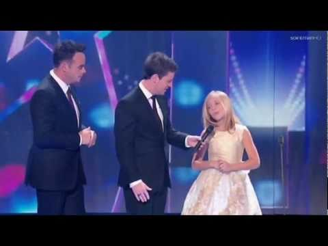 Jackie Evancho - Guest Appearance - Britain's Got Talent 2011