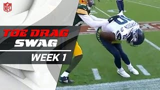 Toe Drag Swag (Week 1) | Doug Baldwin, Stefon Diggs, & More! | Good Morning Football