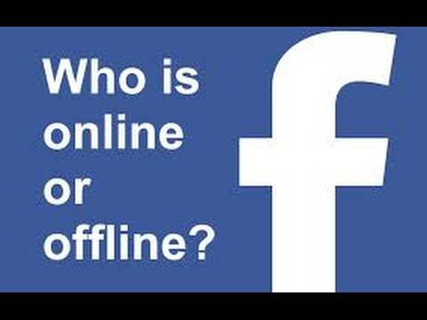 How To See Who Is Online Or Offline On Facebook - YouTube