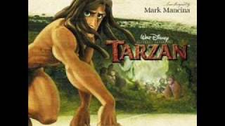 Tarzan Soundtrack- Two Worlds Finale