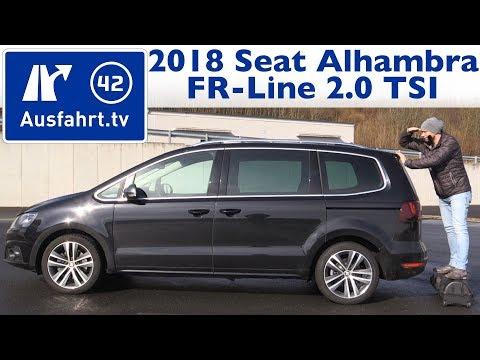 2018 Seat Alhambra FR-Line 2.0 TSI - Kaufberatung, Test, Review