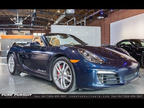 2013 porsche boxster s for sale in mo walkaround shipping luxury sport nationwide youtube. Black Bedroom Furniture Sets. Home Design Ideas