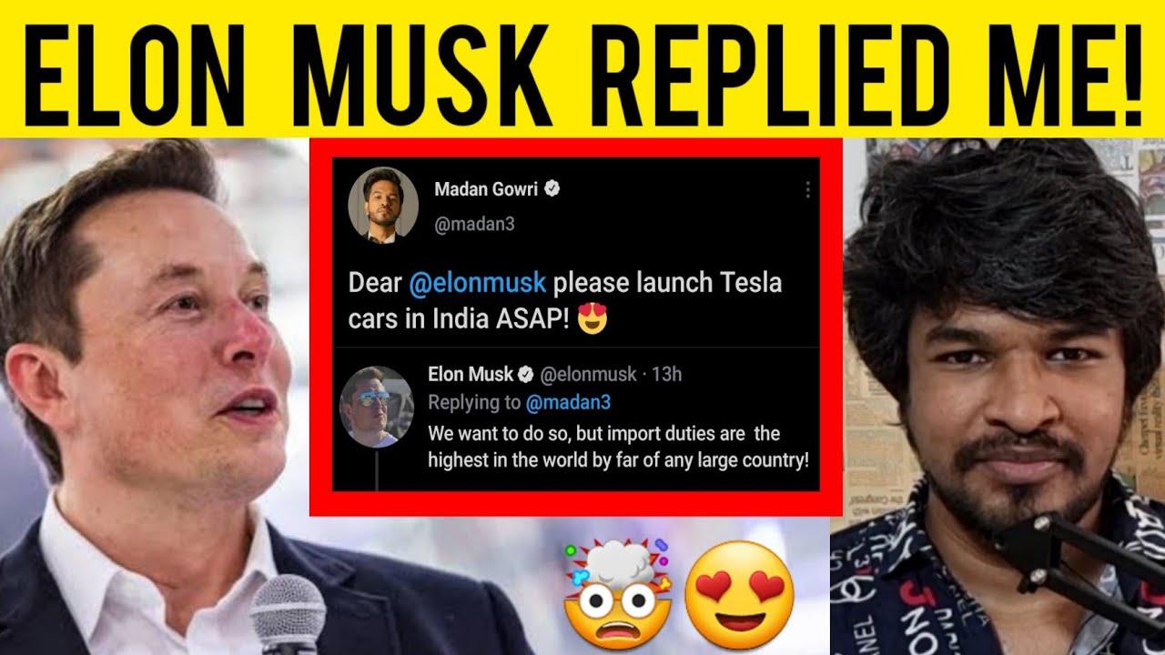 Elon Musk Replied Me 🤯 | Madan Gowri