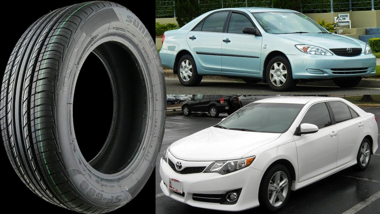 Toyota camry tires sizes