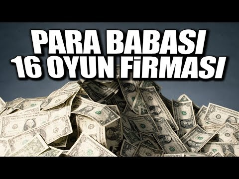 DELİ GİBİ PARA KAZANAN 16 OYUN FİRMASI