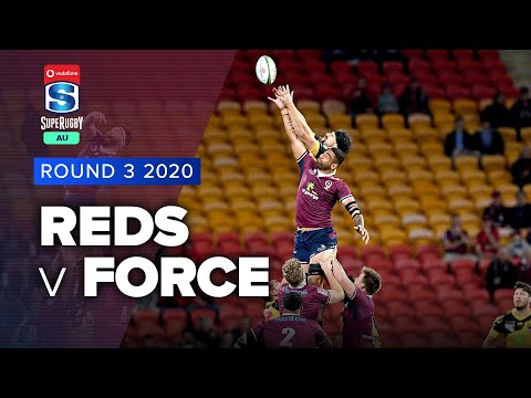 Super Rugby AU | Reds v Force - Rd 3 Highlights
