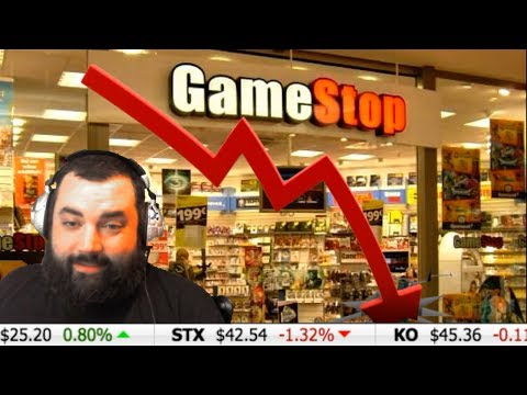 GAMESTOP STOCK IS SINKING AGAIN! ~Investor XP~