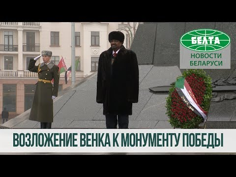 Президент Судана возложил венок к монументу Победы