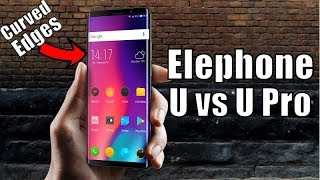 Elephone U and U Pro: What are the Differences? Preview & Hands-on