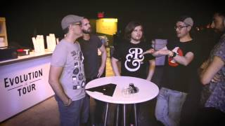 """A-Sides Interview: Bastille Discuss touring and album, """"Bad Blood"""" (7-6-2015)"""