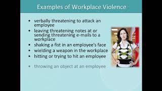 Bill 168 Training