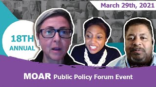The MOAR 18th Annual Public Policy Dialogue