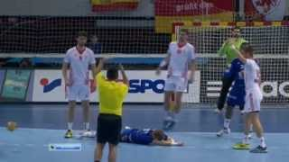 One of the worst handball fouls I
