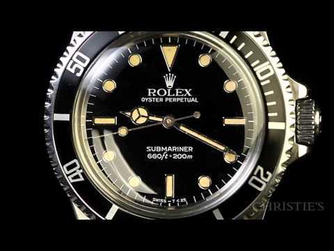 Christie's Watch Shop: Rolex, Submariner, Ref. 5513, circa 1984