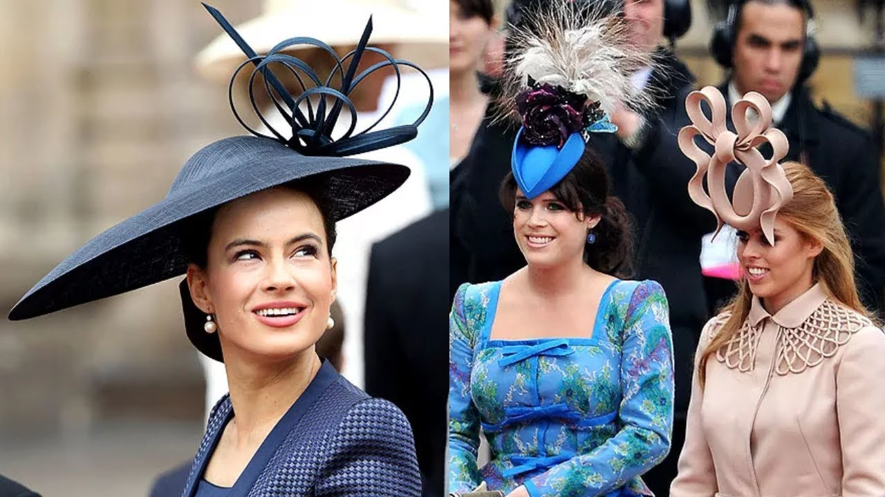 5adc1876a2ad4 The Best And Worst Hats And Fascinators Of The Royal Wedding - YouTube