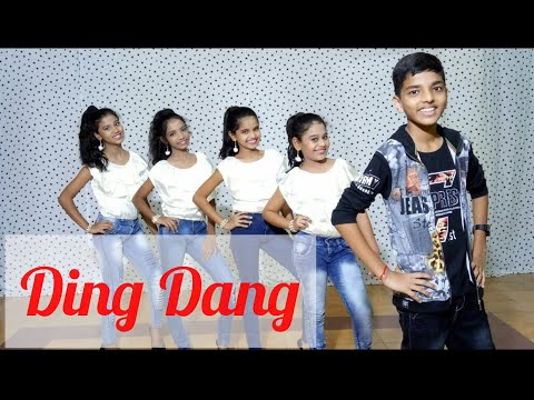 Ding Dang - Video Song | Munna Michael || Hema's Dance & Fitness Academy