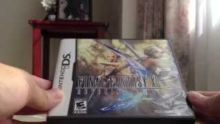 [Binaural ASMR Silent Unboxing] Final Fantasy XII Revenant Wings and Tactics A2