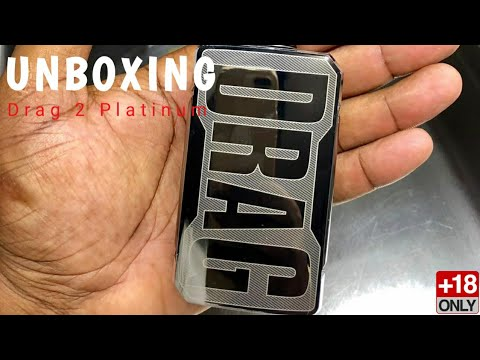 Voopoo Drag 2  Platinum 177W Box Mod By Voopoo 2019 Indonesia