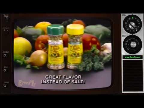 1986 - Mrs Dash Seasonings - Instead Of Salt