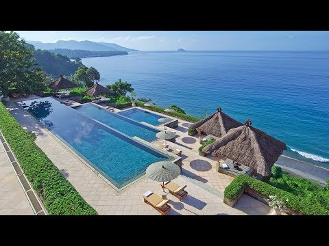 Amankila, most PHENOMENAL resort in Bali (Indonesia): full t