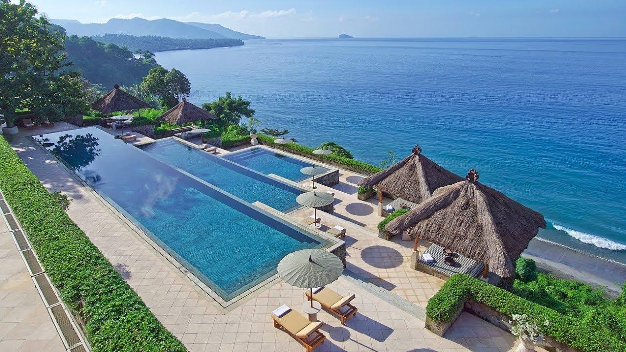 Romantic Beach Resort Bali Indonesia