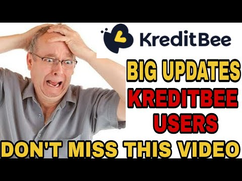Personal loan|kreditbee new update-don't miss this video, kreditbee Apps user's ,this is big update