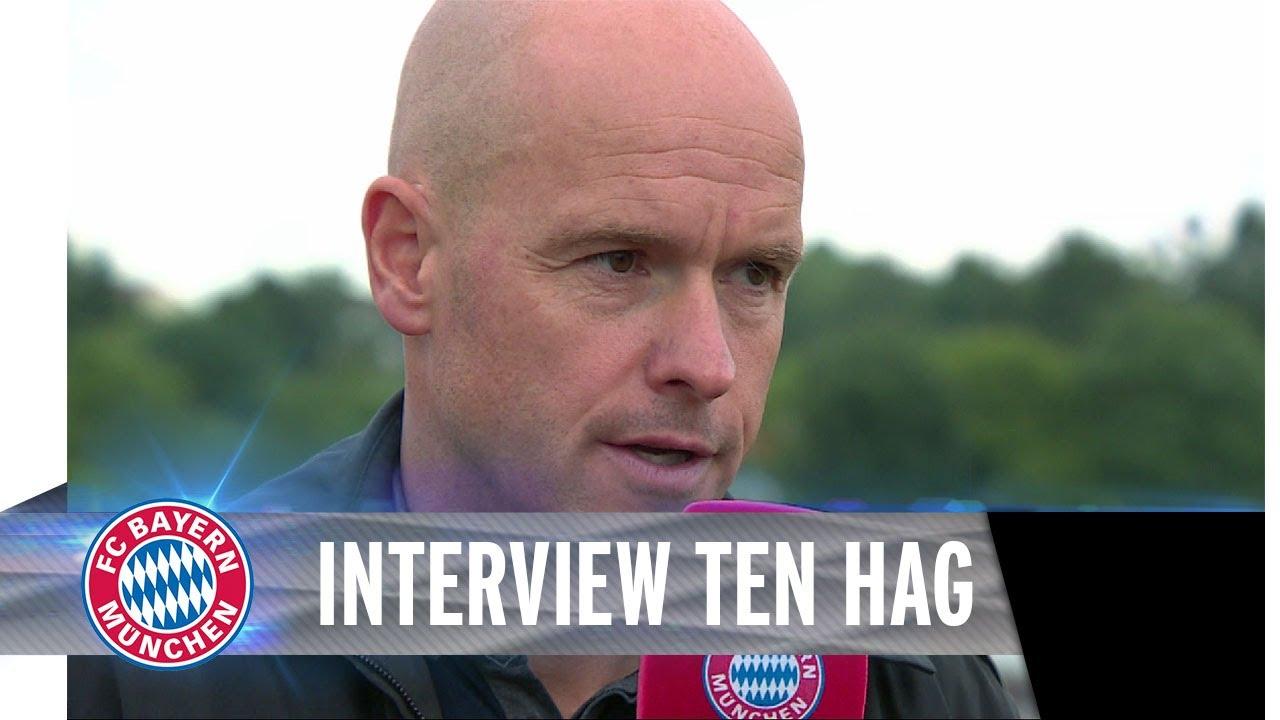 Erik Ten Hag Im Interview Youtube