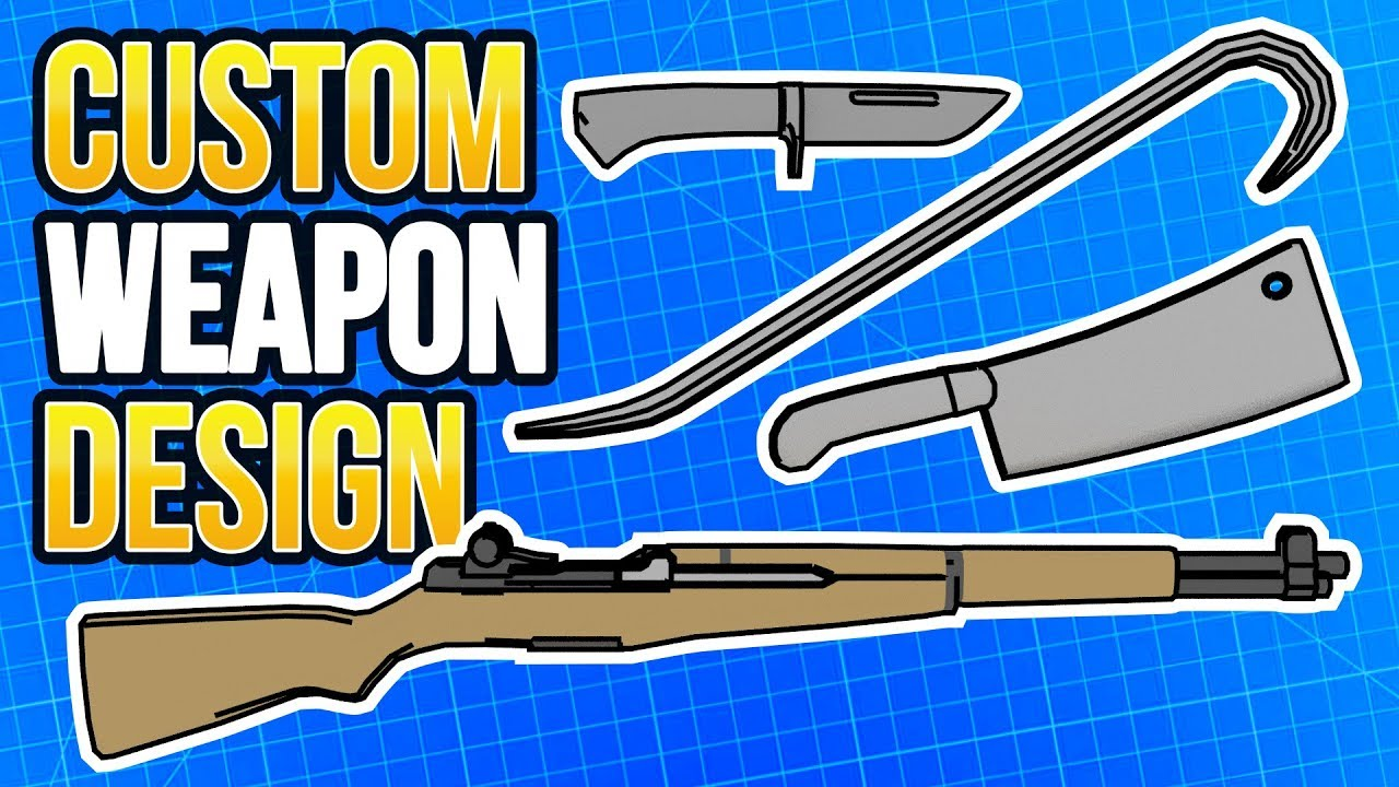 Make Ravenfield Melee Weapons, Mod Material, Upload Your Custom Gun to  Steam Workshop Tutorial