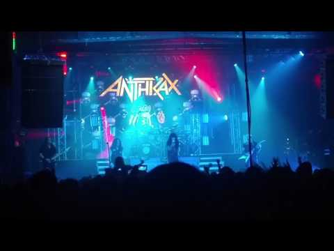 Anthrax Budapest 2017.03.12 - Im the law