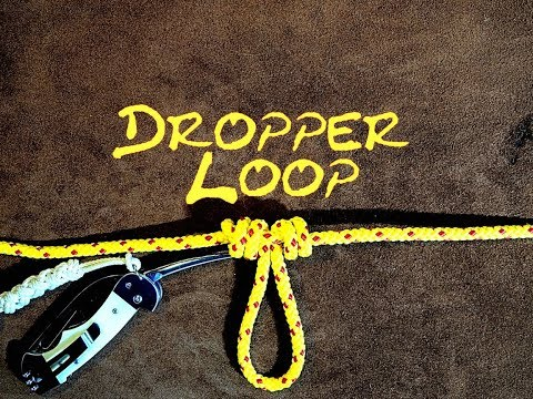 Dropper Loop Fishing Knot Or Blood Knot Dropper Making A Loop In The Bight Of A (Fishing Line Loop)
